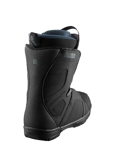 Salomon Titan boots snowboard , pentru barbati, Black/Green Gables, Barbati