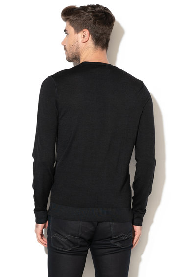 Replay Pulover tricotat fin, din lana Barbati