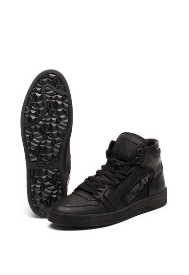 Replay Pantofi sport de piele ecologica Hurdle Barbati