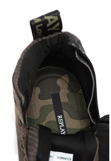 Replay Pantofi sport cu insertii de plasa Mission Barbati