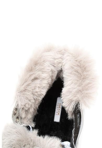 Geox Ghete impermeabile din piele cu garnituri din blana sintetica Femei