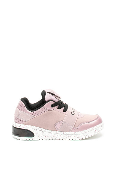 Geox Спортни обувки Xled от еко кожа с LED светлини Момичета