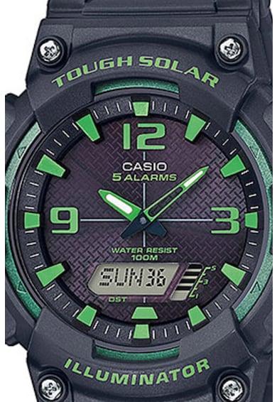 Casio Часовник с каишка от смола Мъже