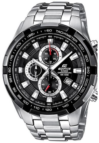 Casio Часовник от инокс с хронограф Мъже