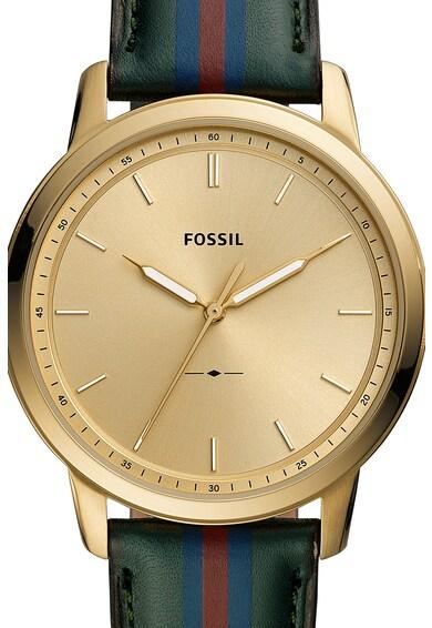 Fossil Часовник с раирана каишка Мъже