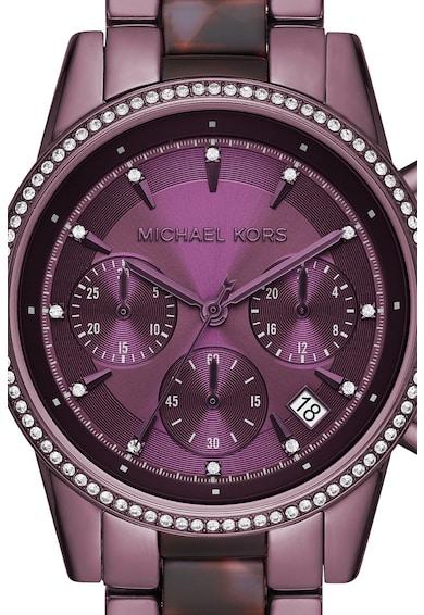 Michael Kors Часовник с хронометър и циркони Жени