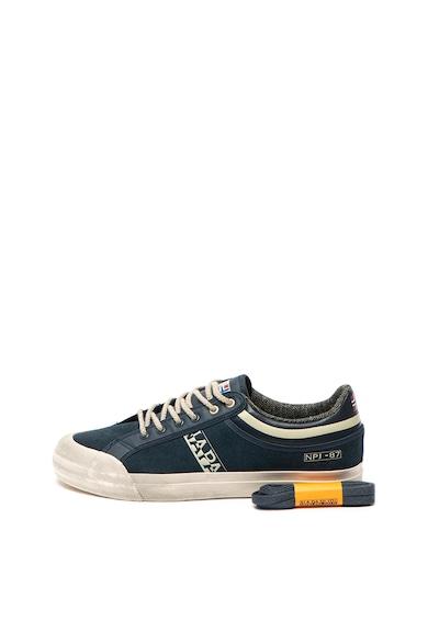Napapijri Pantofi sport cu insertii din piele intoarsa Trick Barbati