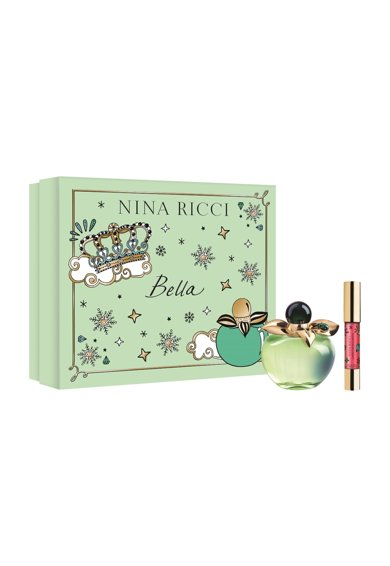 Nina Ricci Set  Bella, Femei: Apa de Toaleta, 50 ml + Jumbo Lipstick Matte Red Femei