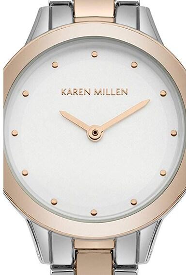 Karen Millen Ceas analog cu model in doua nuante Femei