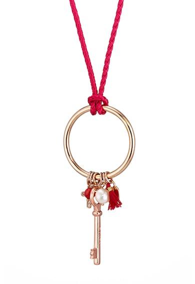 Loisir by Oxette Colier placat cu aur rose de 18K, cu pandantive Femei