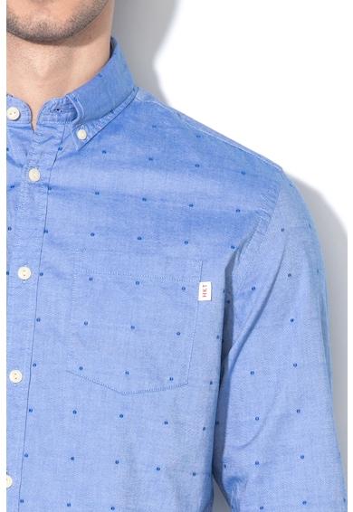 Hackett London Вталена риза с контрасти Мъже