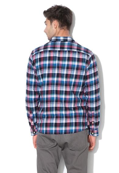 Hackett London Карирана риза с джобове на гърдите Мъже
