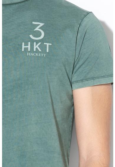 Hackett London Тениска със захабен ефект Мъже