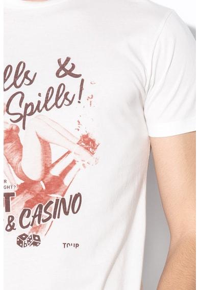 Hackett London Памучна тениска с щампа Мъже