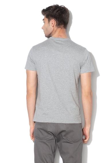 Hackett London Памучна тениска с фигурална шарка Мъже