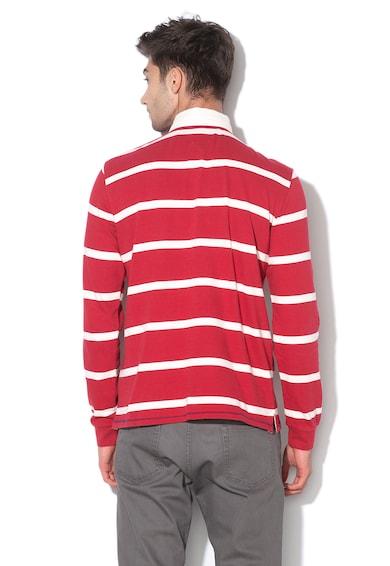 Hackett London Раирана блуза с яка Мъже