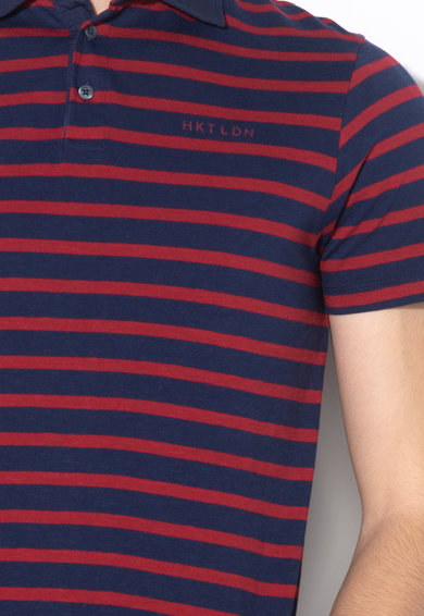 Hackett London Tricou polo de bumbac cu model in dungi Barbati