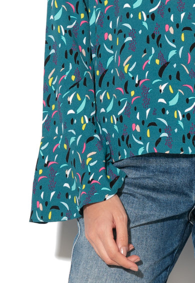 Pepe Jeans London Bluza cu decupaj pe partea din spate Louise Femei