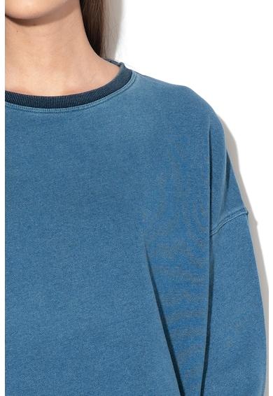 Pepe Jeans London Bluza sport crop cu terminatie ajustabila Manuela Femei