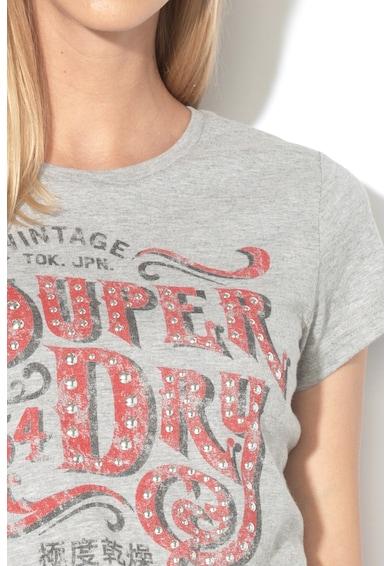 SUPERDRY Tricou cu logo Femei