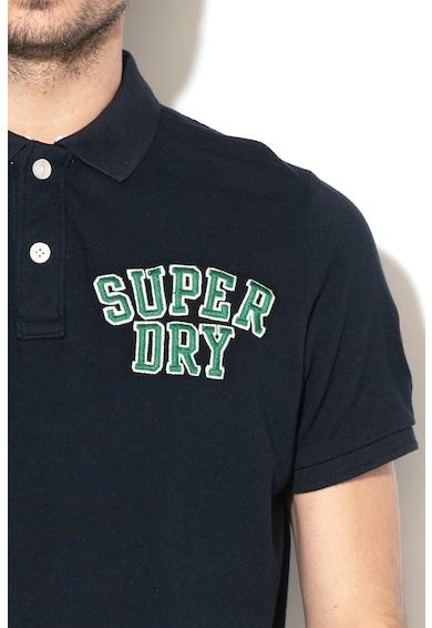 SUPERDRY Tricou polo cu logo brodat Barbati