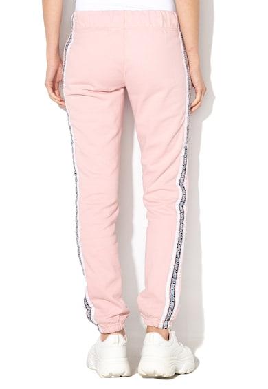 SUPERDRY Pantaloni sport cu benzi laterale cu logo Alicia Femei