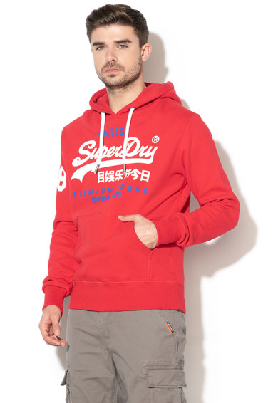 SUPERDRY Hanorac cu captuseala din fleece Premium Goods Barbati