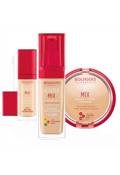 Bourjois Set : Fond de ten Healthy Mix 52 Vanilla 30 ml, Corector lichid Healthy Mix 52 Medium 8 ml, Pudra compacta Healthy Mix 002 Beige Clair 11 g Femei