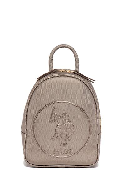 U.S. Polo Assn. Раница от еко кожа с лого Жени