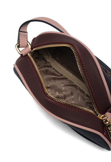 U.S. Polo Assn. Чанта от еко кожа с релефно лого Жени
