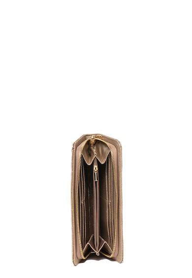 U.S. Polo Assn. Портмоне от еко кожа с капитониран ефект и нотове Жени