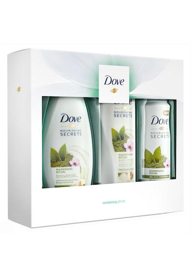 Dove Set Cadou  Awakening Ritual Trio: Deodorant, 150ml + Gel de dus, 250ml + Lotiune de corp, 250ml Femei