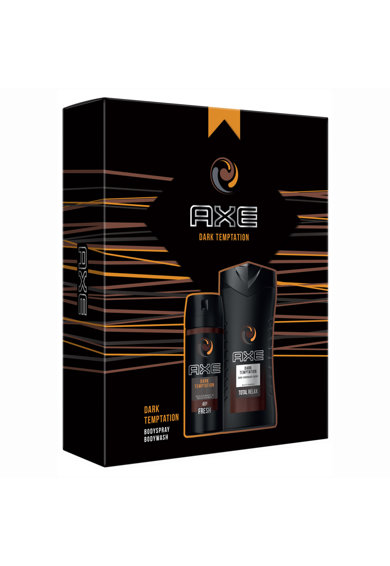Axe Set Cadou  Temptation: Gel de dus, 250ml + Spray corp, 150ml Femei