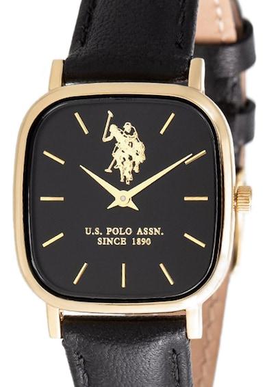U.S. Polo Assn. Ceas cu o curea de piele Femei