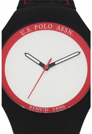 U.S. Polo Assn. Ceas unisex cu o curea din piele Femei