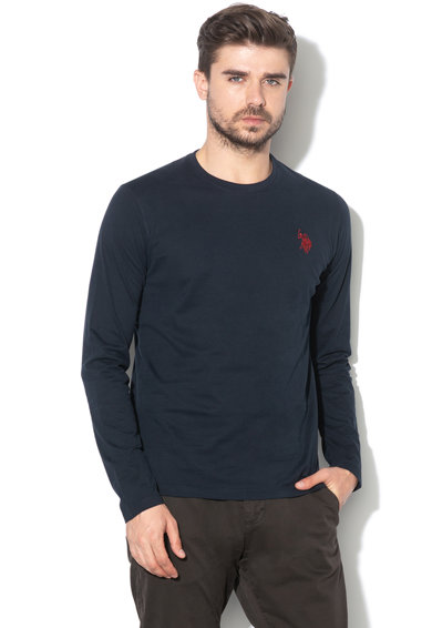U.S. Polo Assn. Bluza cu logo brodat Barbati