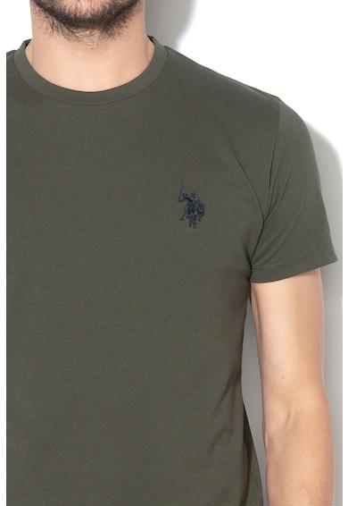 U.S. Polo Assn. Tricou cu broderie logo Institutional Barbati