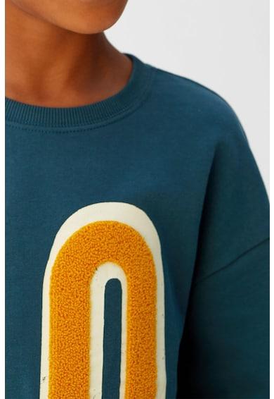 Mango Bluza sport cu aplicatie din material terry PRO Baieti