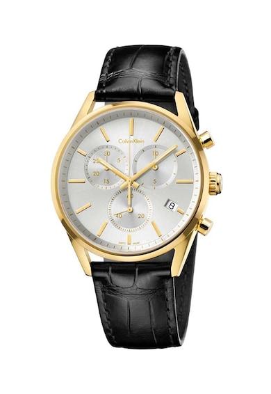 Calvin Klein Ceas cronograf din otel inoxidabil Barbati