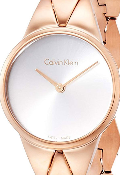 Calvin Klein Ceas rotund din otel inoxidabil Femei