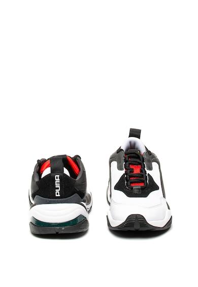 Puma Pantofi sport unisex din material textil si piele intoarsa Thunder Spectra Femei