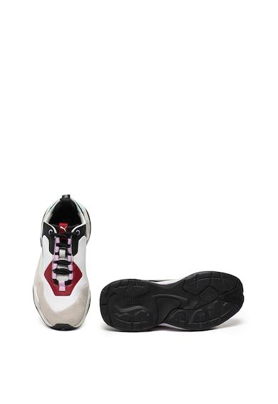 Puma Pantofi sport cu insertii de piele intoarsa Thunder Rive Droite Femei