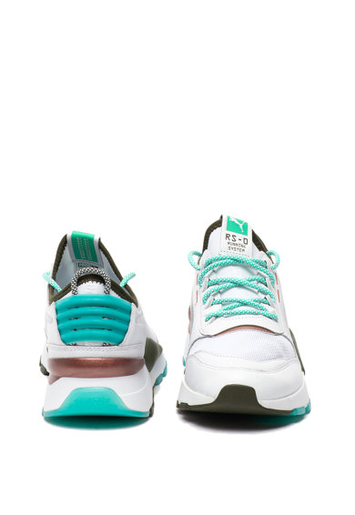 Puma Pantofi sport cu garnituri din piele ecologica RS-0 Barbati