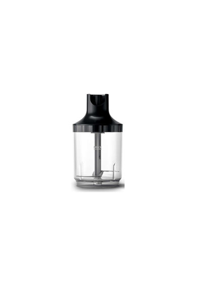 Philips Mixer vertical  Viva Collection ProMix HR2655/90, 800 W, Speed Touch + Functie Turbo, tocator XL 1 l, tel, cana de supa on-thego (300 ml), recipient on-the-go (500 ml), Negru Femei