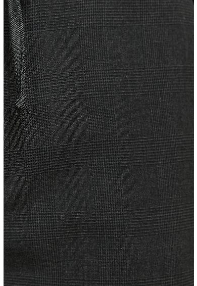 KOTON Pantaloni cu model in carouri si snur Barbati