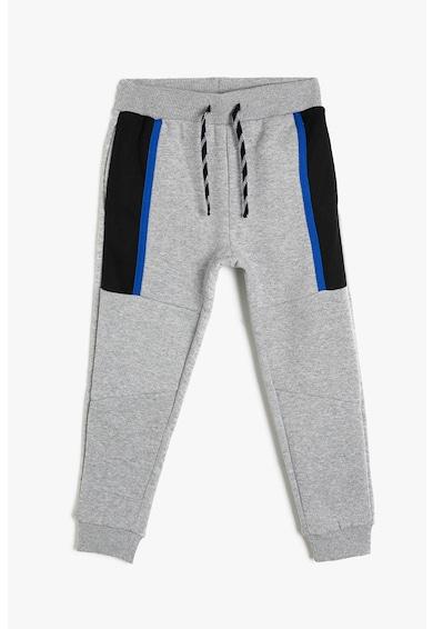 KOTON Pantaloni sport conici, cu snur in talie Baieti