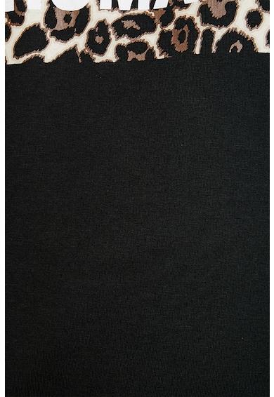 KOTON Bluza sport cu imprimeu contrastant pe piept Femei