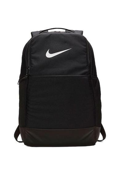 Nike Rucsac sport  Brasilia M 9.0, 24 L, Black/White Femei