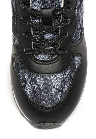 Guess Sneaker műbőr és csipke szegélyekkel Lány
