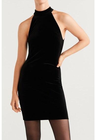 Mango Кадифена рокля Pres Жени